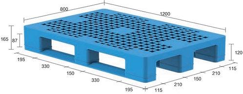 13H-128065-S4 | Heavy Duty Plastic Pallet