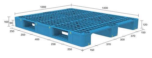 13M-141260-S4 | Heavy Duty Plastic Pallet