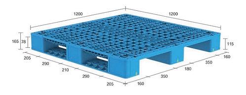 13H-121265-S4 | Heavy Duty Plastic Pallet