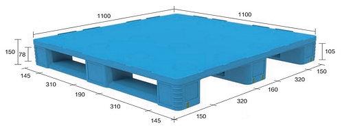 13D-111150-S4(B) | Pharmaceutical Plastic Pallet