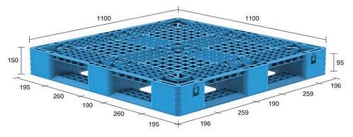 13M-111150-D4(B) | Heavy Duty Plastic Pallet