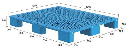 13M-121040-N4(B) | Heavy Duty Plastic Pallet