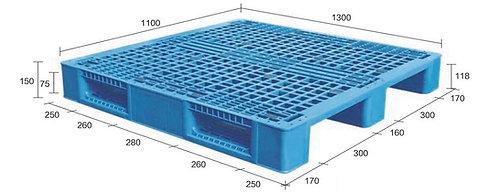 13M-131150-S4   Heavy Duty Plastic Pallet