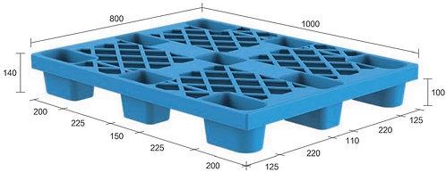 13C-108040-N4 | Nestable Plastic Pallet