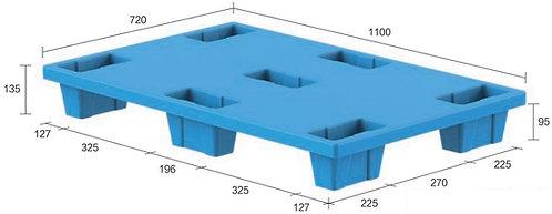 13C-117235-74 | Nestable Plastic Pallet