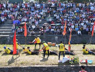 Hội kéo Song làng Hương Canh