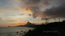 Bãi Nhát - Hoàng hôn mùa gió chướng
