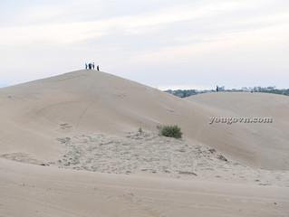 Ghé qua đồi cát Nam Cương