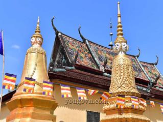 Những ngôi chùa Khmerở Tri Tôn