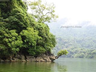 Mênh mông lòng hồ Ba Bể