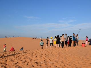 Đồi cát hồng Mũi Né