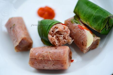 Nem chua Thanh Hóa - Bánh gai Tứ Trụ