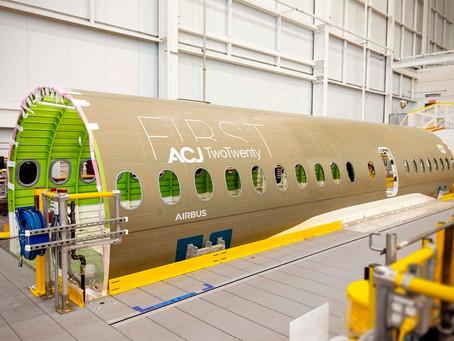 Airbus por el mercado de aviación ejecutiva