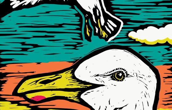 Seagull-Tall Banner