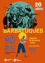 Show Barbatuques 20 años