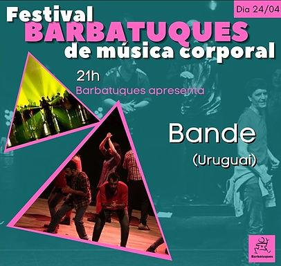 Festival Barbatuques de Música Corporal