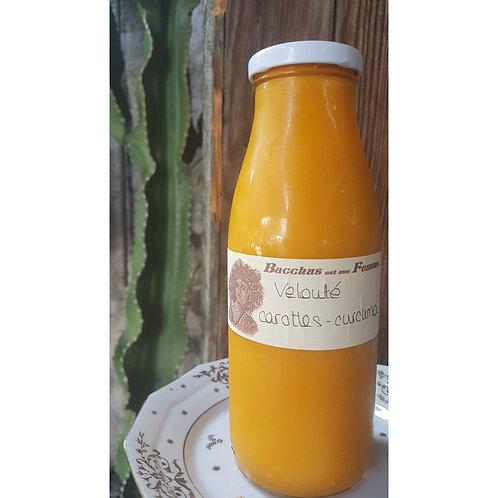 Velouté carottes-curcuma