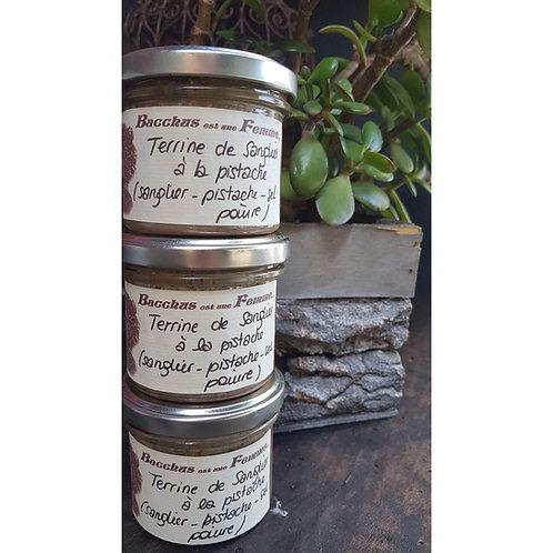 Terrine sanglier-pistache