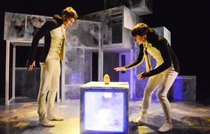 Penguins  Photo / Llun: Robert Day Performers / Perfformwyr:  Jack Webb and Osian Meilir