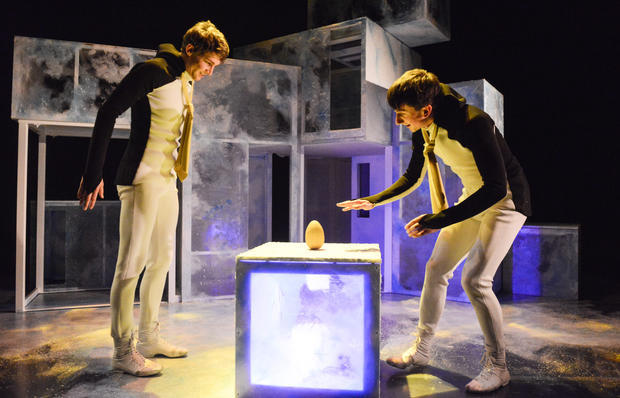 Penguins  Photo / Llun: Robert Day Performers / Perfformwyr:  Jack Webb and Osian Meilir