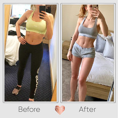 Lean Muscle and Bum Building Transformation