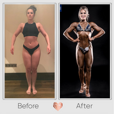 Body Building Transformation