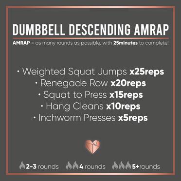 Dumbbell AMRAP