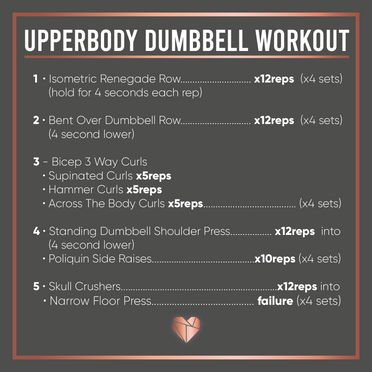 Upperbody Dumbell Workout