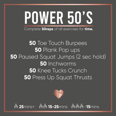 Power Fat Burning Workout