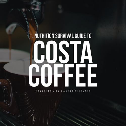 Costa Coffee Nutritional Guide