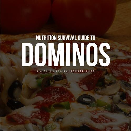 Dominos Takeaway Guide