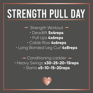Strength Pull Day Workout