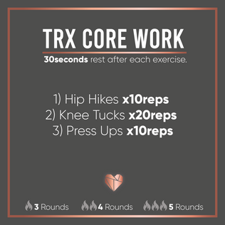 TRX Core Workout