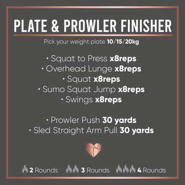 Plate & Prowler Finisher