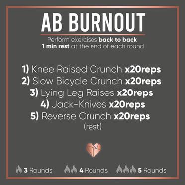 Ab Burnout