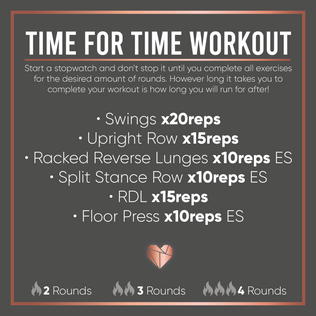 Time For Time Fat Burning Workout