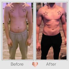 Muscle Gain Transformation