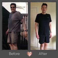 Male Fat Loss Transformation