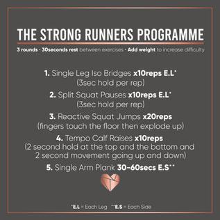 Strong Runner Workout