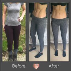 Body Fat Reduction Transformation