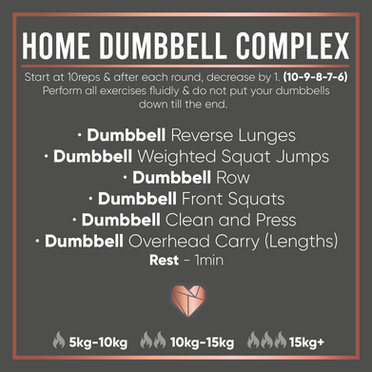 Dumbbell Only Complex