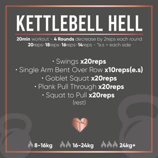 Kettlebell Fat Burner