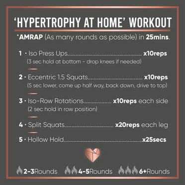 Hypertrophy Home Workout