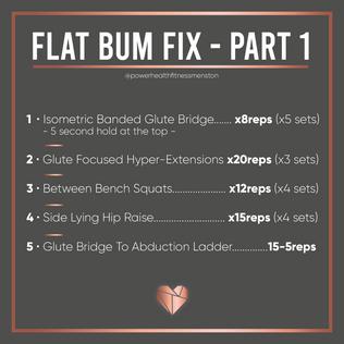 Bum Building Workout