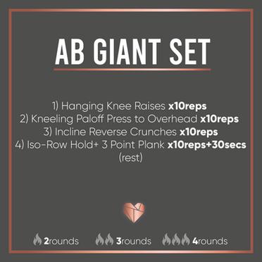 Ab Giant Set