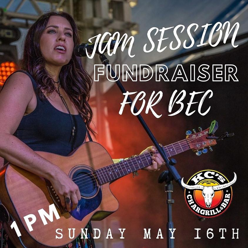 Jam Session FUNDRAISER for Bec !