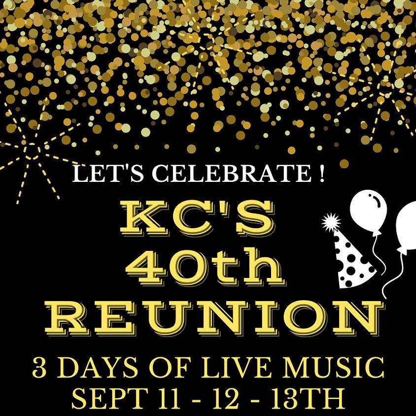KC'S 40TH REUNION !