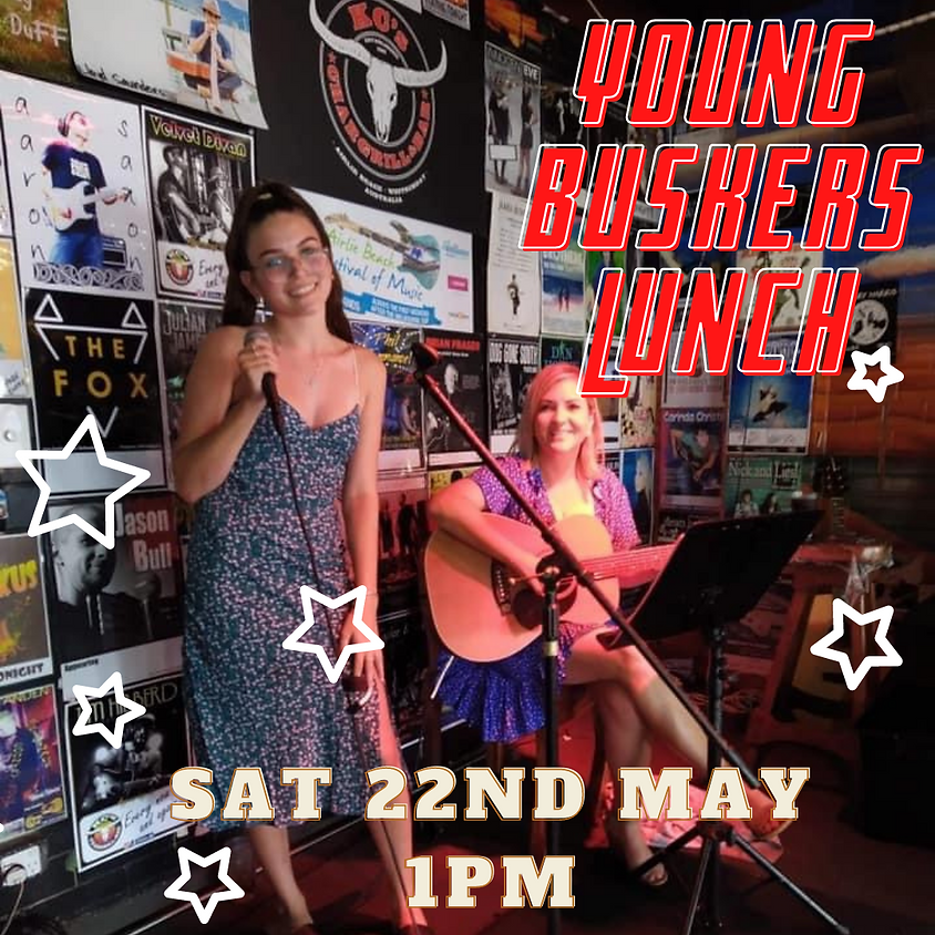 Young Buskers Lunch