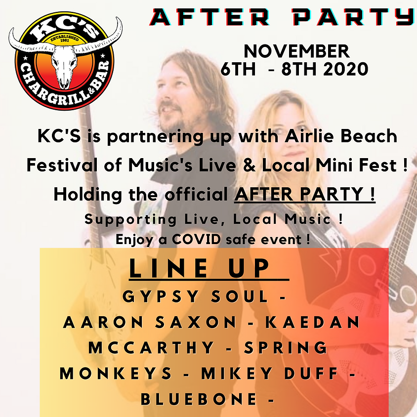 Live & Local mini festival AFTER PARTY