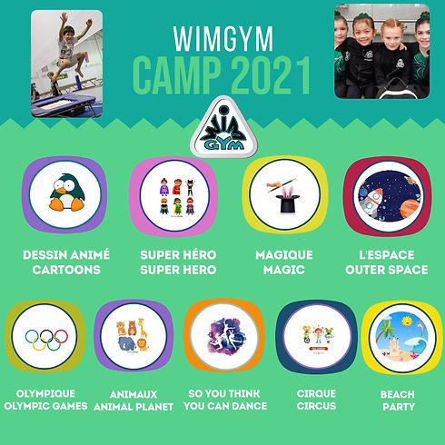 WIMGYM Summer Camp - Erstellt mit Poster